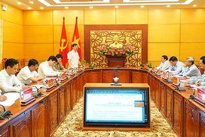Đoàn Công tác của Văn phòng Trung ương Đảng làm việc với Thường trực Tỉnh ủy