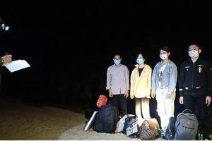 Tiếp tục phát hiện 4 người nhập cảnh trái phép tại Mốc 719 Cao Bằng