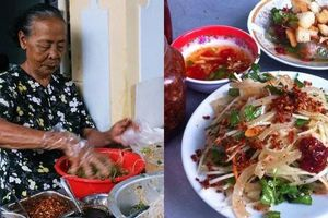 Lễ này đến Đà Nẵng, ghé ngay quán mít trộn 'Bà Già' nổi tiếng hơn 30 năm