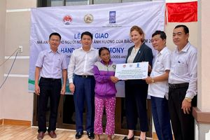 UNDP hoàn thành sửa chữa và bàn giao hàng nghìn căn nhà cho người dân miền Trung