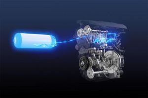 Toyota chế tạo động cơ đốt trong hút khí hydro
