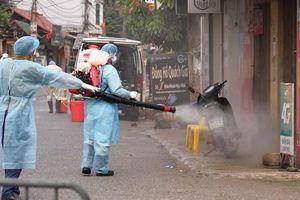 Huyện Mê Linh: 3 F1 âm tính với SARS-CoV-2, 35 F2 tiếp tục được cách ly