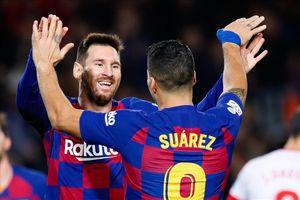 Suarez nói 'lời gan ruột' khuyên Messi ở lại Nou Camp