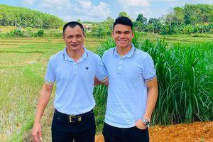 Cầu thủ SLNA viết tâm thư xúc động chia tay HLV Ngô Quang Trường