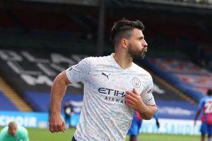 HLV Guardiola nói gì ngày Aguero giúp Man City tiến sát ngôi vương?