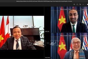 Củng cố quan hệ thực chất giữa Việt Nam và tỉnh British Columbia (Canada)