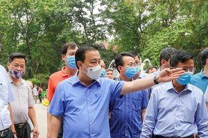 Phó Chủ tịch Hà Nội kiểm tra công tác phòng, chống dịch trên địa bàn