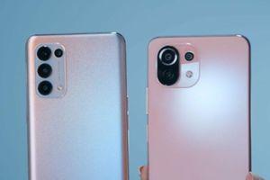So sánh Oppo Reno5 với Xiaomi Mi 11 Lite 4G
