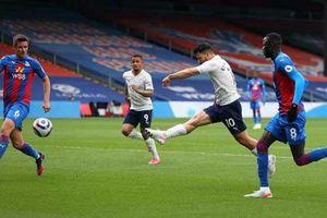 Kết quả Crystal Palace 0-2 Man City: Man xanh chờ ngày đăng quang
