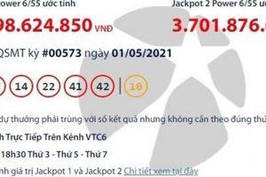 Kết quả xổ số Vietlott 1/5: Tìm người trúng giải khủng hơn 31 tỷ