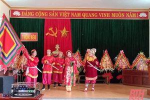Nhiều khó khăn trong công tác bảo tồn, phát huy giá trị văn hóa phi vật thể trên địa bàn huyện Vĩnh Lộc