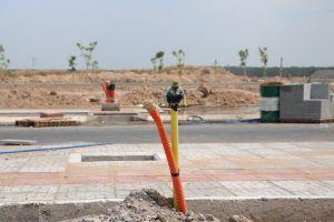Hoàn thành đấu nối hệ thống cung cấp nước sạch tại Khu tái định cư Lộc An- Bình Sơn