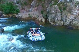 Sông Ba Chẽ giàu tiềm năng du lịch