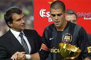 Barca sắp đón Victor Valdes trở lại