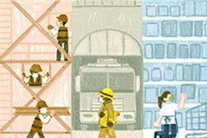 Ngày Quốc tế Lao động 1/5: Goolge thay giao diện kỷ niệm 135 năm