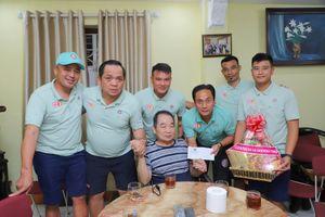 Sài Gòn FC hoạt động thiện nguyện trước trận cầu lớn