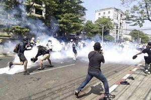 Thêm người biểu tình Myanmar thiệt mạng