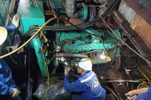 Bộ đội Trường Sa kịp thời khắc phục thành công sự cố tàu cá QNg 90684 TS