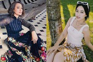 Đỗ Thị Hà khoe vai trần sexy, Hoa hậu Ngọc Khánh tái xuất với áo dài