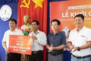 Tập đoàn TNG tài trợ 1 tỷ đồng nâng cấp điểm trường tại Lý Sơn