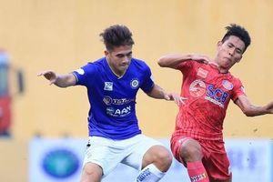 Geovane phá lưới đội bóng cũ, ông Park có chiến thắng đầu với Hà Nội