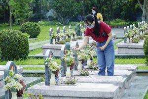 Tháng 5 lịch sử trên Nghĩa trang Liệt sỹ ở Điện Biên