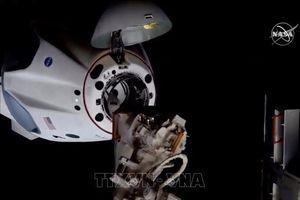 Tàu SpaceX đưa 4 phi hành gia trên ISS trở về Trái Đất