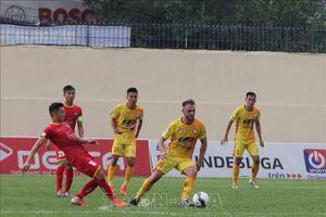 Đông Á Thanh Hóa thắng sát nút 1-0 trước Sông Lam Nghệ An