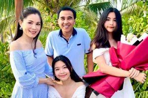 Nhan sắc hai cô con gái tựa 'nàng thơ' nhà MC Quyền Linh