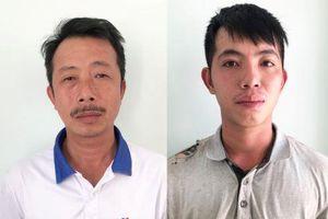 2 công nhân trộm thép cây trong kho hàng của công ty
