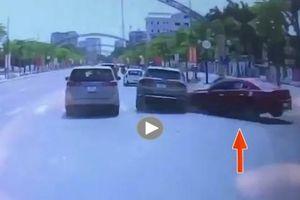 Madaz 'ôm cua' mất lái gây tai nạn kinh hoàng