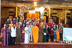 Gia Lai: Chùa Vạn Phật tổ chức Hằng thuận cho đôi Phật tử trẻ
