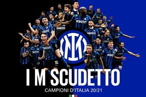 Inter Milan chính thức vô địch Serie A 2020/2021 sớm 4 vòng đấu