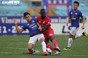 Đánh bại Sài Gòn FC, Hà Nội FC nuôi hi vọng vào nhóm đua vô địch