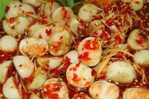 Cách làm cà muối xổi chua ngọt thơm giòn