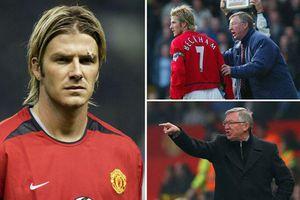 Góc khuất vụ chiếc giày bay giữa Sir Alex Ferguson và Beckham