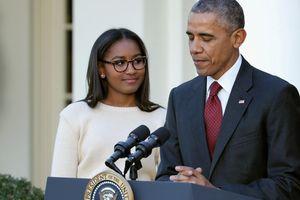 Con gái út nhà Obama ngày càng trưởng thành, nổi bật