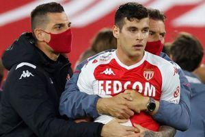 5 thẻ đỏ xuất hiện trong trận đấu của AS Monaco