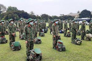 Tăng cường lực lượng cho bộ đội biên phòng chống dịch