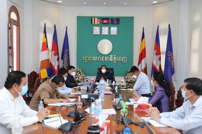 Campuchia duy trì phòng, chống dịch chặt chẽ ở Phnom Penh