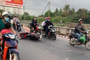 Từ miền Tây trở lại TP HCM, 2 người đi xe máy va chạm thành cầu tử vong