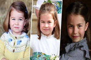 Loạt khoảnh khắc đáng yêu của tiểu Công chúa Charlotte vừa tròn 6 tuổi