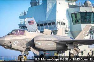 Tàu sân bay của Anh đưa F-35 Mỹ tới thách thức Trung Quốc