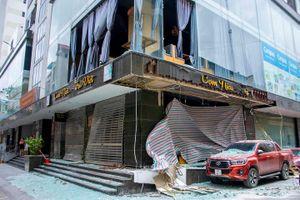 Hạ Long: Nổ nhà hàng nghi do rò rỉ khí gas, 1 người bị thương