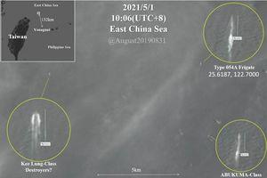 Trung Quốc đưa tàu chiến vào vùng biển đông bắc đảo Đài Loan, Nhật Bản và Đài Loan cùng giám sát