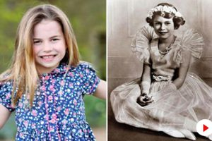 Ảnh chụp Công chúa Charlotte 6 tuổi khiến người hâm mộ hoàng gia 'phát cuồng' vì giống Nữ hoàng