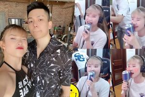 Kelvin Khánh giả 'đứng hình wifi lag' chọc Khởi My ngay trên sóng livestream: Kết hôn vui đến vậy sao?