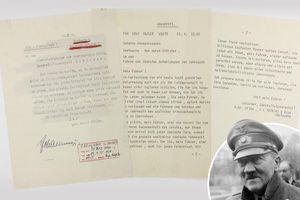 Trùm phát xít Hitler viết gì trong 'thư tuyệt mệnh'?