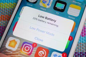Khi pin yếu, hãy làm điều này nếu bạn muốn iPhone nhanh hỏng
