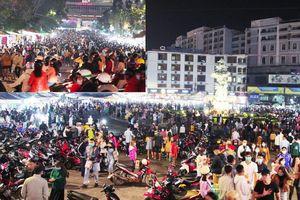 Hàng trăm ngàn người đến với Đà Lạt trong dịp lễ